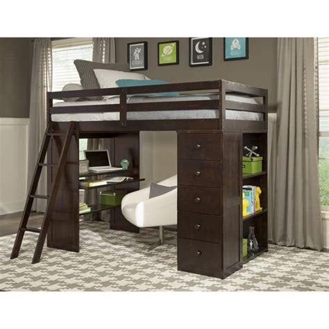 queen bunk bed with desk bunk beds queen loft bed with desk full size loft bed
