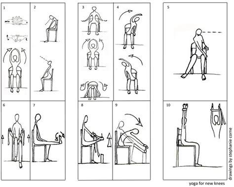 printable home exercise program for elderly chair yoga exercises knees laura staton yoga pinterest