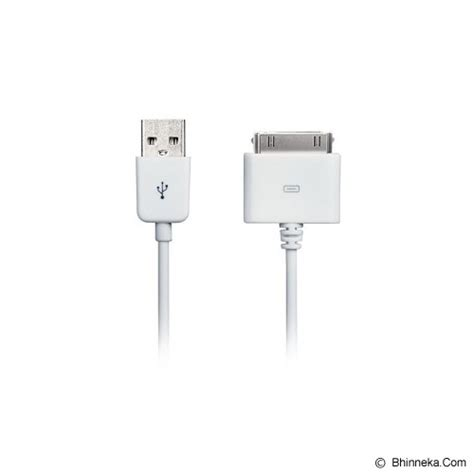 Avantree Usb Sync Charge Cable For Apple 30pin Ifa 1 jual avantree 30 pin sync charge cable 1m white murah