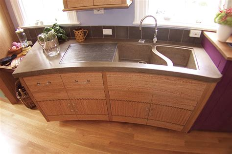 sonoma cast concrete sinks concrete kitchen sinks