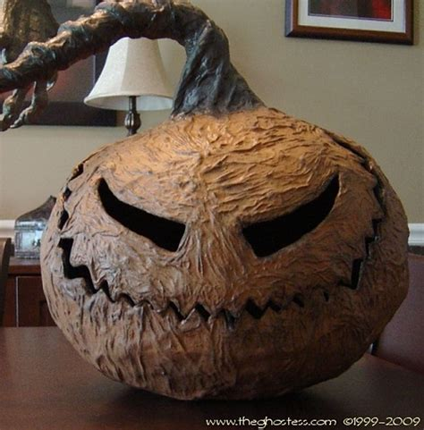 How To Make Paper Mache Pumpkins - 17 best ideas about paper crafts on