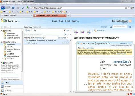 Microsoft Outlook Live Outlook Live Preview Ein Halbtagsblog
