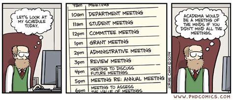phd comics advisor meeting phd comics teeming with meetings