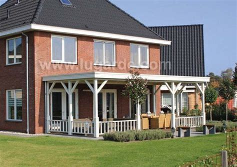 Veranda Toit 4 Pans by Lugarde Leaning Verandas For Your House Log Cabin