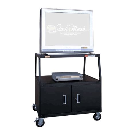 38 inch high cabinet vti 44 inch high cart cabinet for 36 inch tv monitor
