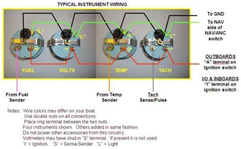 vintage teleflex tachometer wiring diagram get free