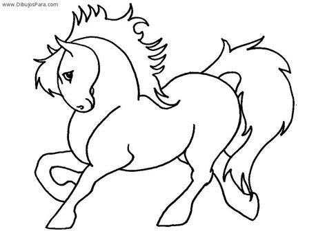dibujos para colorear de caballos caballo pony dibujos de caballos para pintar colorear