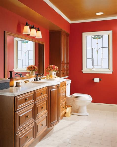 Bold Bathroom Color Ideas by Bathroom Bliss By Rotator Rod Trending In Bathroom Decor