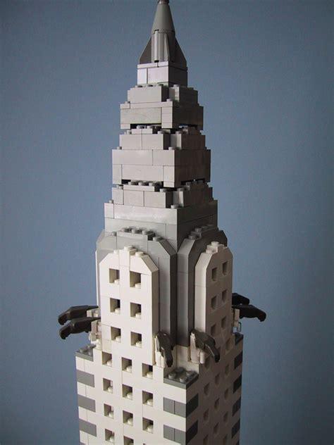Mini Arsitektur Chrysler Building kenney with lego bricks the chrysler building