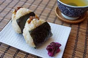 onigiri with beef shigureni recipe japanese cooking 101