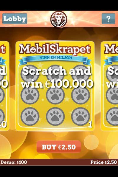 mobile scratch cards mobilskrapet mobile scratch card review