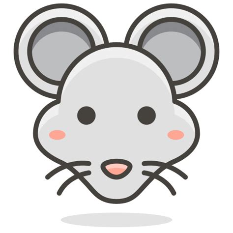 format gambar icon ratte maus tier symbol kostenlos von another emoji icon set