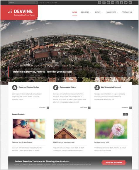 wordpress homepage layout manager 15 corporate professional business premium wordpress