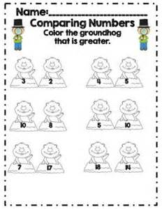 groundhog day number of days groundhog day comparing numbers part of 19 page math