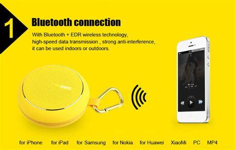 Speaker Bluetooth Free Dengan Tf Card Slot Termmurah xiaomi mifa bluetooth portable speaker black