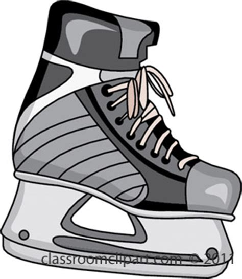 Skating Clipart Clipart Ice Skates 411b Classroom Clipart Bauer Skate Sizing Template