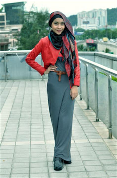 gaya hijab trendy  remaja tutorial hijab
