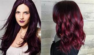 hair colors for black hair hair color 2017 black cherry hair