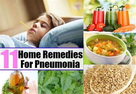 11 home remedies for pneumonia treatments cure