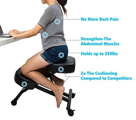 Ergonomic Stool For Back by 10 Best Ergonomic Kneeling Chair For Back And Neck
