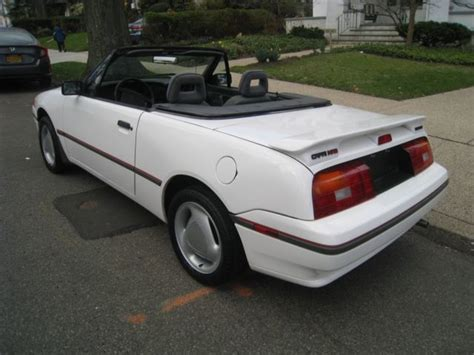 car engine repair manual 1992 mercury capri electronic throttle control 1992 mercury capri xr2 turbo convertible 5 speed manual 90k miles no rust