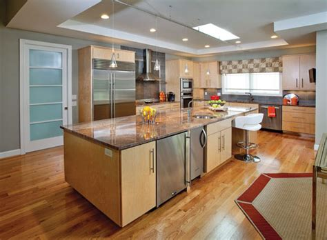 kitchen colors with light oak cabinets
