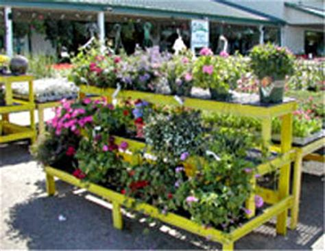 garden centre display benches grow display three tier stair step display gothic arch