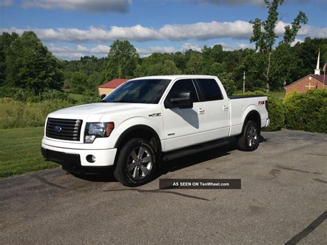2012 ford f 150 fx4 ecoboost white crew cab 20 inch wheels f 150 photo 2012 ford f 150 fx4 ecoboost white crew cab 20 inch wheels