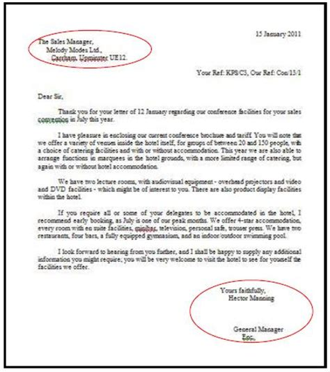 Business Letter Dan Artinya Business Letter Menambah Pengetahuan