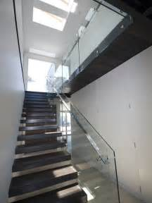 Glass Stair by 20 Glass Staircase Wall Designs With A Graceful Impact On