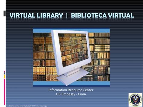 my virtual library section virtual library iip