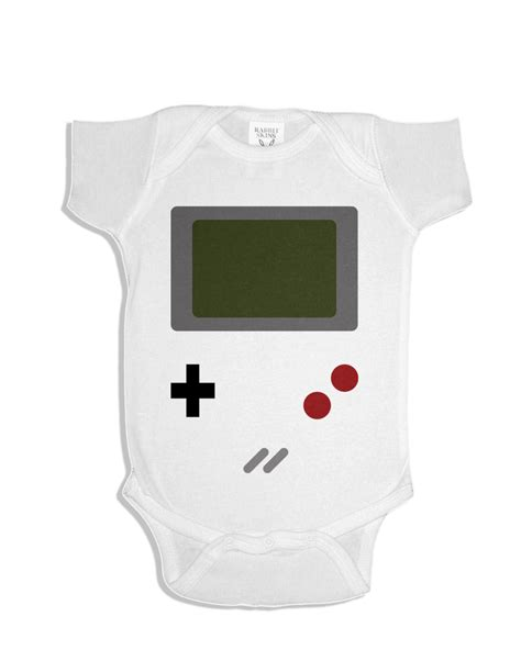 Gameboy costume onesie funny baby onesie cute baby stuff baby clothes custom baby clothes