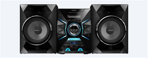 sony system high power home audio system with bluetooth 174 mhc gzx33d