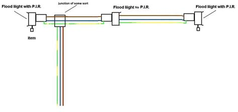 pir wiring diagram lighting wiring diagram and schematics