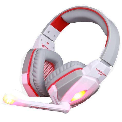 Headset Each G4000 each g4000 3 5mm gaming headset stereo headphones headband