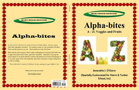 alpha s bite books alpha bites by janevette o garro 14 95 9781620306680