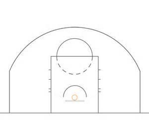 Basketball Half Court Template by Half Court Basketball Template Bestsellerbookdb