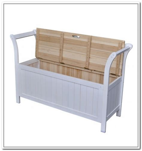 white wood bench with storage white outdoor storage bench 28 images white wooden