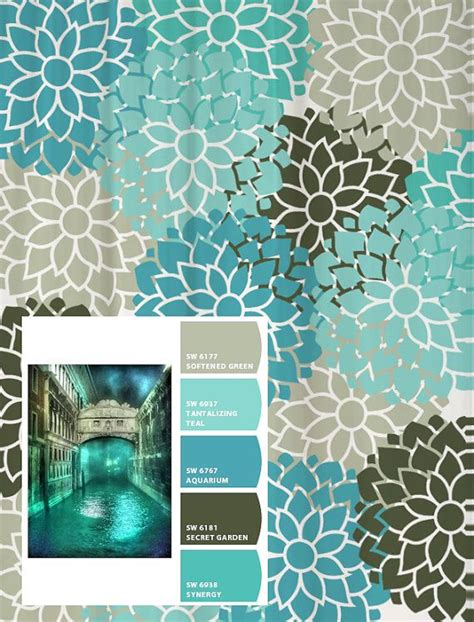 turquoise and grey shower curtain shower curtain in turquoise aqua blue and gray standard