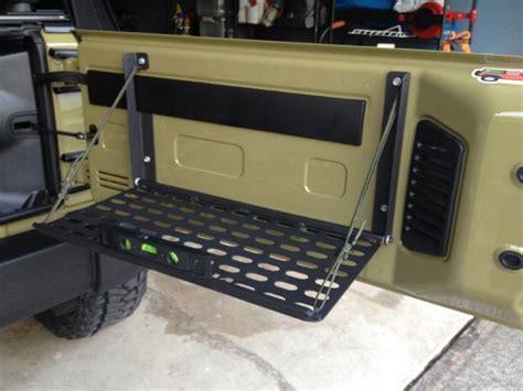 jeep tailgate storage 2012 jeep wrangler tailgate ebay autos post