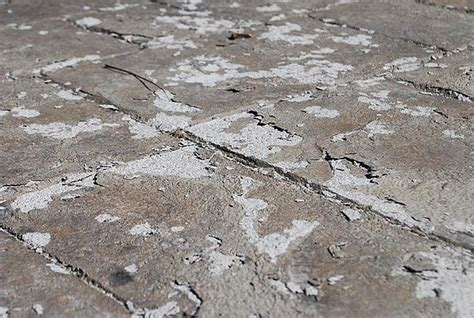 Paver Patio Affects Of Extreme Winter Weather On Decorative Concrete