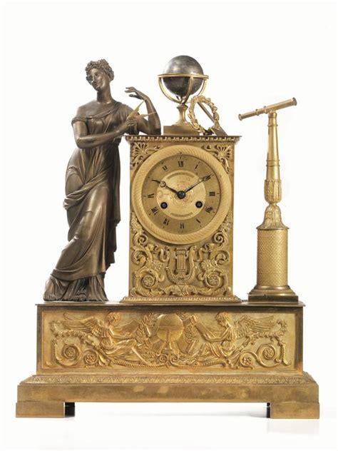 orologi da tavolo francesi orologio da tavolo francia 1820 circa in bronzo dorato