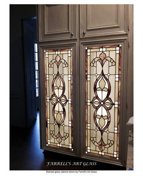 stained glass kitchen cabinet doors cabinet doors wood n stone cabinets and church s stained