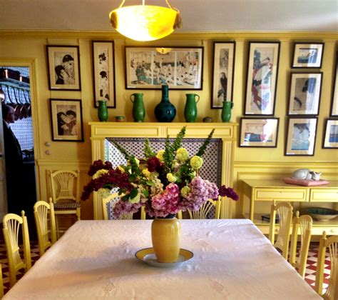 monet dining room a day with claude monet in giverny the