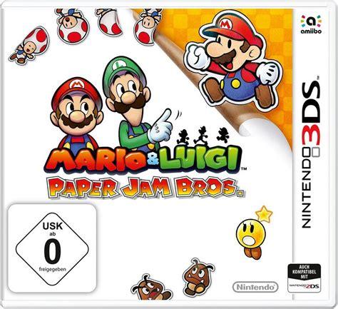 Kaset 3ds Mario Luigi Paper Jam mario luigi paper jam bros nintendo 3ds kaufen otto
