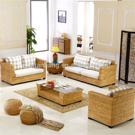 Indoor Sunroom Furniture Sets indoor sunroom rattan water hyacinth seagrass