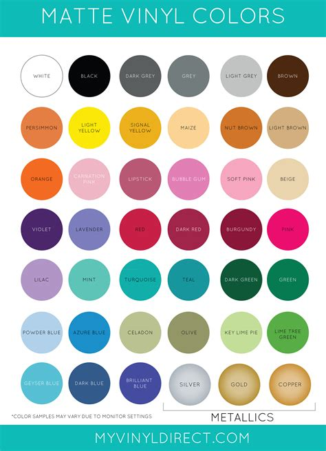 vinyl colors matte vinyl oracal 631 my vinyl direct