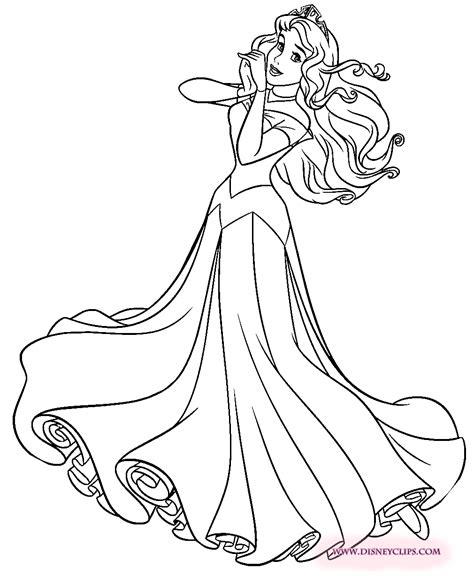 disney princess aurora coloring page princess aurora coloring page 색칠하기 pinterest