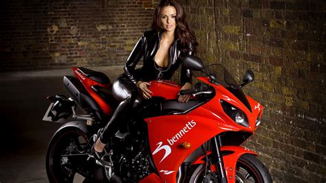 wallpaper girl with bike chopper girls motorcycle wallpaper wallpapersafari