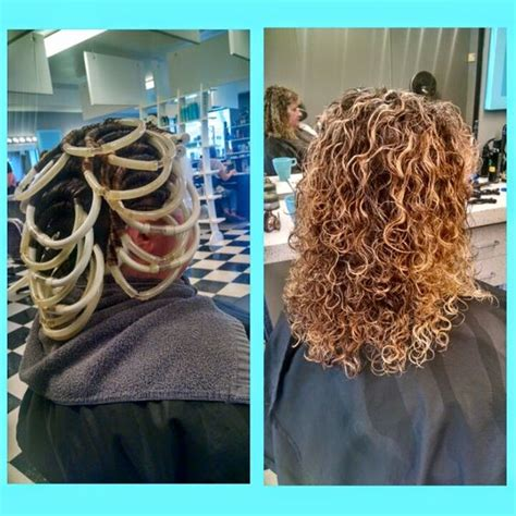 spiral perm rods for short hair spirals spiral perms and perms on pinterest